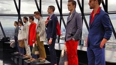 London Collections: SS 2014  manen mode 2014