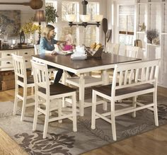 Whitesburg Dining Collection Creates An Inviting Cottage Retreat Within The Dcor Of Any Room