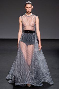 Christian Dior Fall 2013 Couture Fashion Show - Marte Mei van Haaster