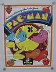 1980 Midway Pac Man Classic Arcade Game Original Promotional Poster - 1980, ARCADE, Classic, Game, Midway, ORIGINAL, Poster, Promotional