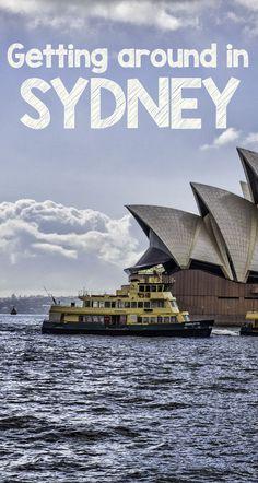 Getting Around in Sydney