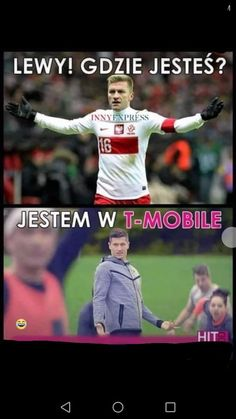 Heh to wiem już gdzie jest lewy jak go na meczach niema😂. Very Funny Memes, Haha Funny, Funny Cute, Polish Memes, Weekend Humor, Me And My Dog, Old Memes, Happy Photos, Different Words