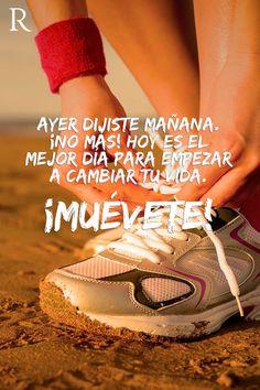 Frases de Motivación para el GYM. Imágenes de motivación para hacer ejercicios y compartir con amigos que necesiten ánimos para ir a gimnasio.