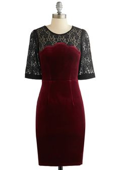 Holiday Open House Dress, #ModCloth | -rushes to the ER due to how sickening this dress is- wow i need it