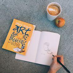 Art Before Breakfast - a fun doodling book