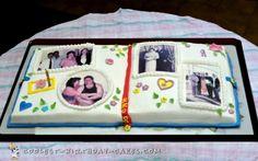Memorable Birthday Scrapbook Cake...
