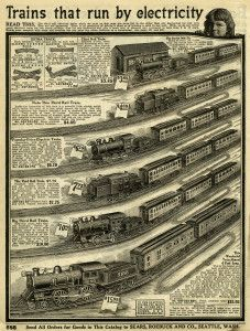 Free Vintage Image ~ Catalogue Page of Toy Trains #1