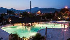 Pool at Castel Transilvania Night View