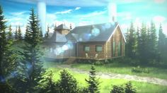 Kirito and asuna's house