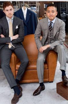"treviorum: ""Jake Grantham and Alan See in Liverano & Liverano. """