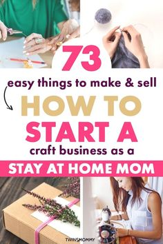 DIY crafts to sell for stay at home moms. Learn how to start a craft business at.DIY crafts to sell for stay at home moms. Learn how to start a craft business at home. Get ideas for crafts that make money. These are crafts for home. Diy Home Crafts, Jar Crafts, Diy Crafts To Sell, Crafts For Teens, How To Craft, Craft Ideas For The Home, How To Sell Diy Projects, Craft Ideas To Sell Handmade, Work From Home Crafts