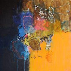 """""""Noires sont les ailes de mon ange"""" by Nadine Bourgne"""