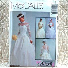 8047 McCalls Uncut Pattern 1996 Women Alicyn by DartingDogPatterns