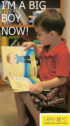 I See Me! I'm a Big Boy Now! Review from Easy Green Mom.  @easygreenmom