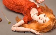 Porcelain bjd ball jointed doll Ondine by Yanina Kozlova, OOAK art bjd doll