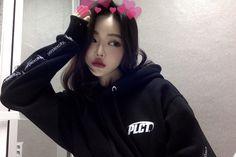 Imagen de ulzzang and ulzzang girl - Selfie Ulzzang Korean Girl, Cute Korean Girl, Ulzzang Couple, Asian Girl, Aesthetic People, Aesthetic Girl, Korean Beauty, Asian Beauty, Korean People