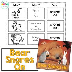 """Bear Snores On"" cut"