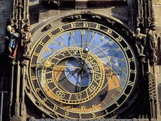 Astronomical Clock, Old Town Square, Prague, Czech Republic Prague Clock, Prague Astronomical Clock, Clock Old, Prague Architecture, Europe Centrale, Skeleton Clock, Best Weekend Getaways, Ghost In The Machine, Prague Czech Republic