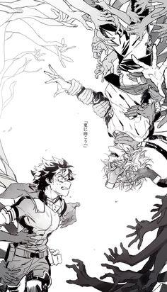 Boku no Hero Academia    Midoriya Izuku    Shigaraki Tomura/Shimura Tenko