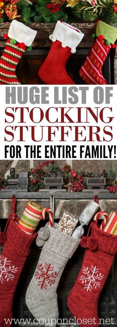 Here are the best christmas stocking stuffers from stocking stuffers for men to stocking stuffer for kids, here is a huge list of stocking stuffer ideas.