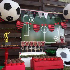 Festa de futebol do Flamengo