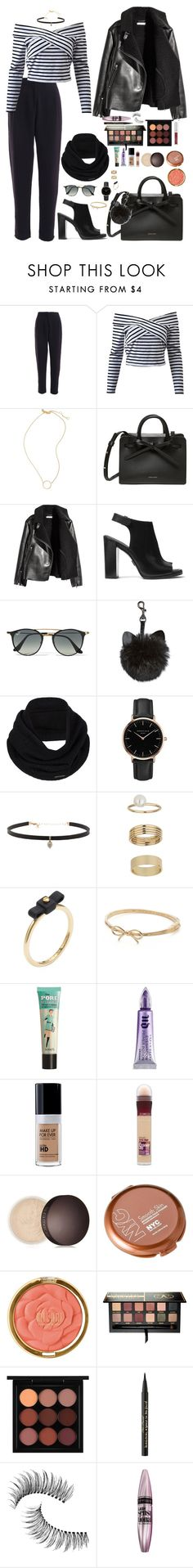 """Winter"" by saraxionggg on Polyvore featuring Madewell, Michael Kors, Ray-Ban, prAna, Topshop, Carbon & Hyde, Miss Selfridge, Marc by Marc Jacobs, Kate Spade and Benefit"
