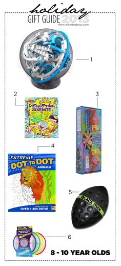 All for the Boys - Holiday Gift Guide: 8-10 YearOlds