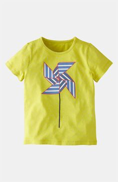 Mini Boden 'Origami' Appliqué Tee (Toddler, Little Girls & Big Girls) available at Nordstrom