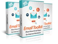 Email Toolkit 10 Email Apps to Get You More Opens, Clicks & Sales Fully Web-based, Nothing to Install or Configure or Setup. YES – All These 10 Email Apps & Tools Are For You No Matte… Marketing Software, Email Marketing, Internet Marketing, Affiliate Marketing, Marketing Tools, Software Products, Software Apps, Marketing Training, Historia