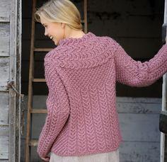 Matilda pattern for The Knitter 51