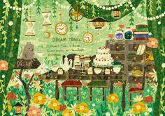Art And Illustration, Illustrations And Posters, Fantasy Kunst, Fantasy Art, Matte Painting, Storyboard, Layout, Whimsical Art, Art Sketchbook