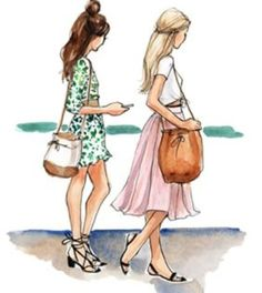 58 ideas fashion drawing sketches beautiful for 2019 40 trendy fashion illustration sketches back haute couture Best Friend Drawings, Bff Drawings, Best Friend Sketches, Friends Sketch, Best Sketches, Girl Drawing Sketches, Beautiful Sketches, Drawing Ideas, Fashion Design Drawings