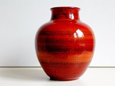 Mid Century Bay keramik ceramic vase West by vintage2remember, €35.00