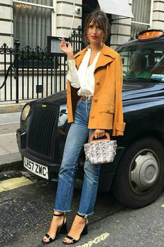 O estilo da fashionista francesa Jeanne Damas