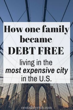 This family paid off their debt while living in New York City. How they did it in the most expensive city in the U.S.