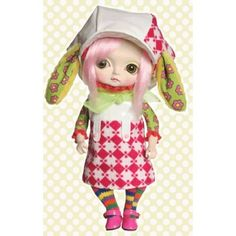 Huckleberry Toys Toffee Dolls Exclusive Series 1 Limited Edition Doll Figure Pinky by Huckleberry, http://www.amazon.com/dp/B005KBGEUY/ref=cm_sw_r_pi_dp_8oecsb16D6M21
