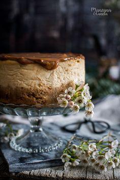 Cheesecake de dulce de leche