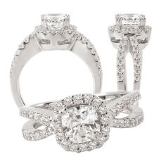 Spent my morning study time figuring out that my favorite diamond ring cut is CUSHION! Hey at least now I know... For the far future...!
