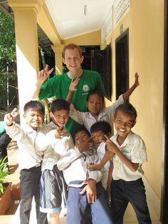 #volunteer work #cambodia #teaching
