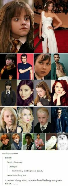 HP and the Glorious Puberty lol