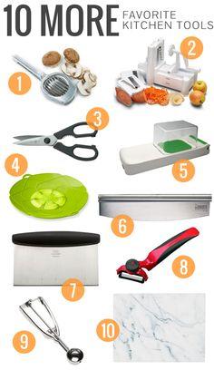 10 More Favorite Kitchen Tools | ohmyveggies.com