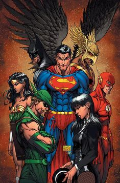 Justice League - Identity Crisis by Michael Turner