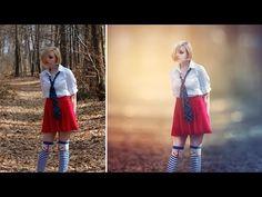 Photoshop CC Tutorial - Fantasy Looks Photo Effect Editing - YouTube