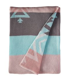 lolli LIVING Knitted Cotton Blanket
