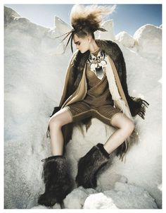 wild side of life: julia beliakova by thanassis krikis for madame germany december 2013 | visual optimism; fashion editorials, shows, campaigns & more!