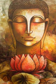 DH Art Classical Buddha Oil Painting Solemn Buddhism Wall Canvas Art Asian Religion Ancient Picture For Home Decoration(China (Mainland)) Lotus Buddha, Art Buddha, Buddha Kunst, Buddha Zen, Buddha Painting, Buddha Buddhism, Buddhist Art, Buddhism Religion, Buddhist Monk