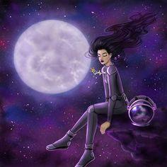 Night Owl~ Girly_m Illustration Girly M, Beautiful Drawings, Cute Drawings, Sarra Art, Background Drawing, Anime Art Girl, Girl Cartoon, Cute Wallpapers, Kawaii Anime