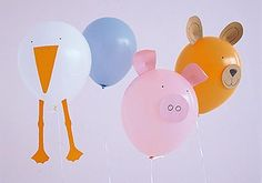 Zoo der Luftikusse - Wandtattoo, Luftballons & Co. 2 - [LIVING AT HOME]