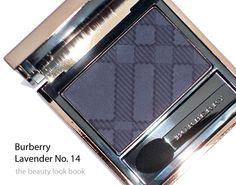 Burberry eyeshadow #14 Lavender