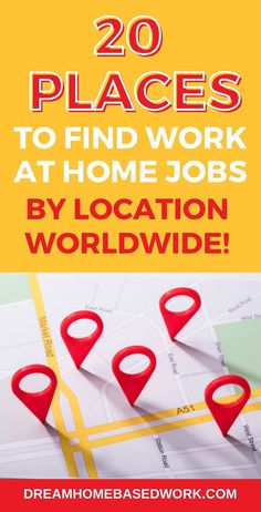 Looking for an online job for a specific location? Here's the list you need! Here are twenty sites you can use to begin your job search. Save this pin so you can come back to it! Start your worldwide job search today! #workfromhome #onlinejob #nowhiring